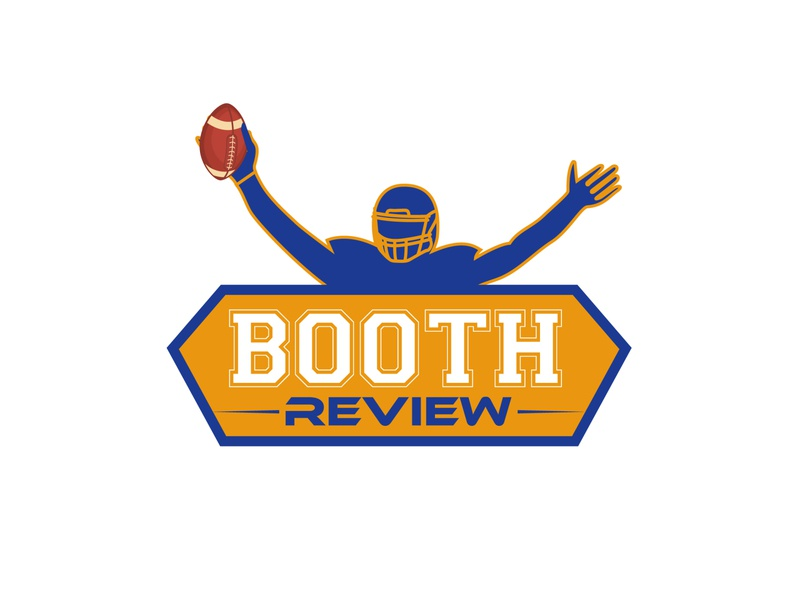 Logo for booth review | podcast logo | sports logo logotype company logo logo within 6 hours free logo mockup dribbble creative logo logo idea free logo logo design logo