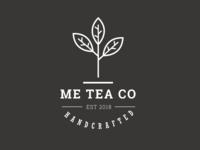 Me TEA Co Logo   Tea minimal logo