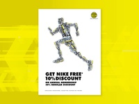 Gold's Gym offer for Nike