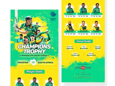Champions Trophy Info graphics