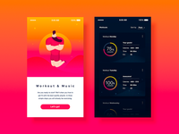 Workout&Music UX/UI project