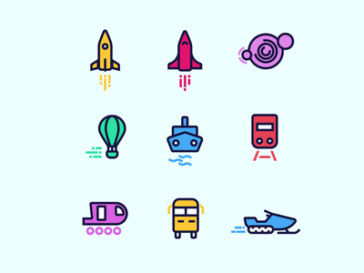 Travel Icons icondesign illustration travel idenity icons iconset