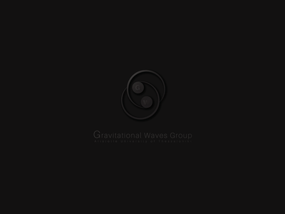 Logotype design for Gravitational Waves Group of Auth
