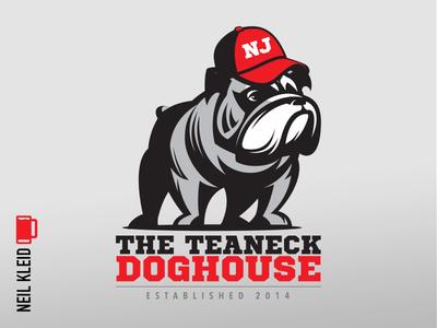 Teaneck Doghouse - Proposed Logo Design illustration illustrator new jersey teaneck doghouse design branding brand logo