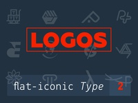 My Logos collections flat-iconic type 2