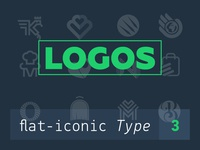 My Logos flat-iconic type 3