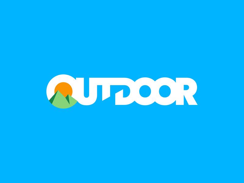 Outdoor Logo mark brand logo outdoor