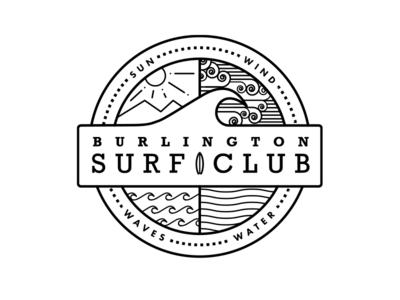 Burlington Surf Club Logo
