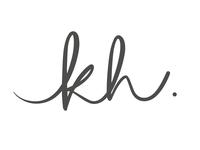 Handwritten logo for my new initials