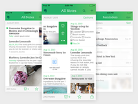Evernote for iOS 7