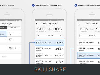 New! iOS UX Design Class on Skillshare
