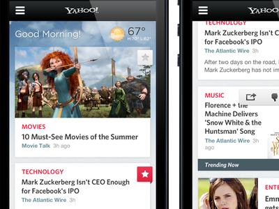 Yahoo! Design Exploration