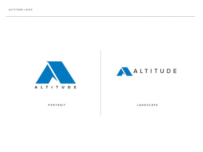 Altitude pattern library design system airlines logo