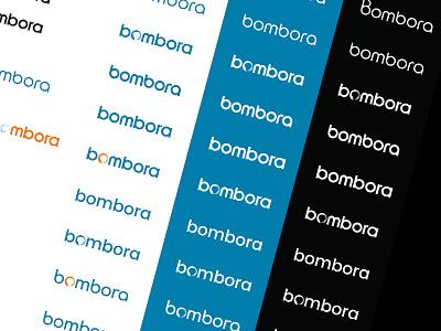 Bombora exploration logo font