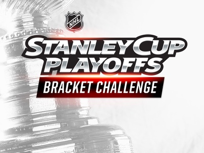 NHL Bracket Challenge logo lockup nhl