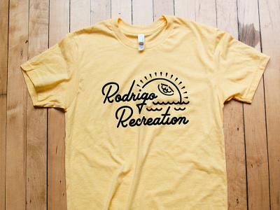 Rodrigo Recreation 2017 Shirt yellow recreation illustration t-shirt