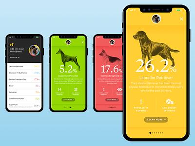 Embark Dog DNA Redesign redesign dna dog mobile ux ui