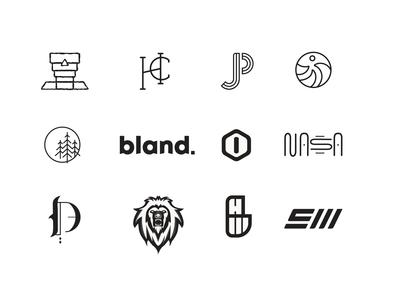 logofolio | 18-20 web app ux ui icon logo typography branding illustration design