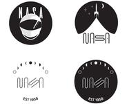 NASA logos or badges
