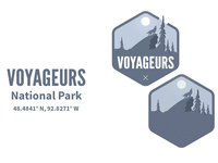 Voyageurs National Park badges