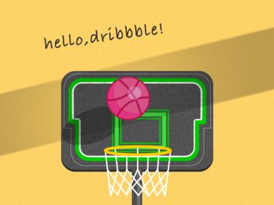 Hello  dribbble 1x