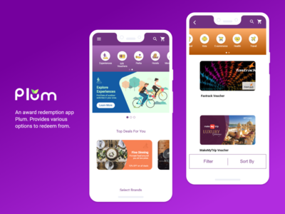 Plum - An award Redemption App