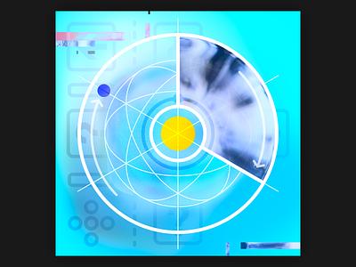 2021 01 13 record cover lp ep neue ghost orb light soft color gestaltung album cover design music covers album art album