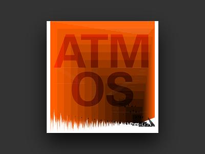 Atmos pattern organized ladder enveloped typographie frutiger univers grid album cover design type music covers album art typography album graphic design