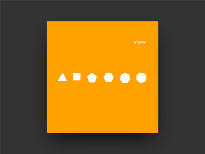 Progress ontwerp constructed deconstructed typographie scale organized pattern minimal grid color gestaltung album cover design type music covers album art typography album graphic design