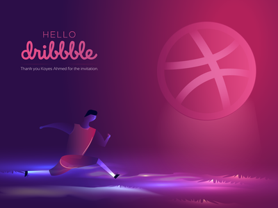 First shot on dribbble