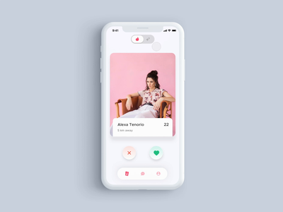 Basic Interaction user interface user interface design user experience userinterface mobile ui mobile app design 2020 trend dribbble best shot dribbble redesign concept redesign tinder animation app flat ux ui design minimal
