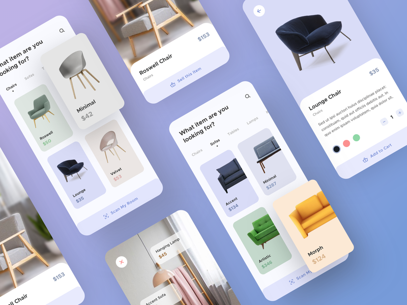 Furniture App Full UI Kit ( Freebie ) best dribbble shot 2020 trend user experience userinterface freebies freebie ui kit design ui kit sell buy ecommerce design ecommerce app furniture store furniture app app flat ux ui design minimal
