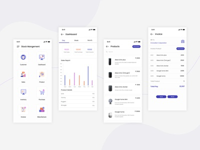 Stock Management App