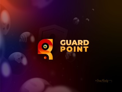 Guard Point Icon and Logo Design apps icon vector ui illustration lettering logo typography logo logo design branding design typography