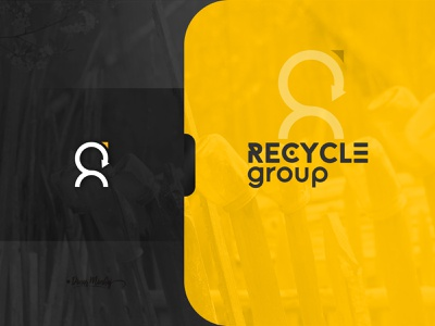 Recycle Group Logo Design icondesign ui vector illustration logo lettering typography logo logo design branding design typography