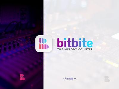 Bitbite Logo Design icondesign vector ui illustration lettering logo typography logo logo design branding design typography