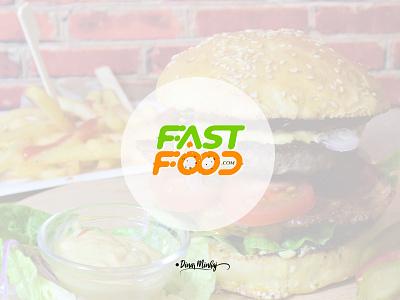 Fastfood Typography Logo ui vector illustration lettering logo typography logo logo design branding design typography