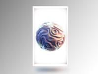 3D Reactive wallpaper
