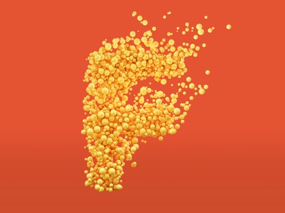 Fizzzz bubbles 36 days of type design typography ux branding 3dtype vector cinema4d