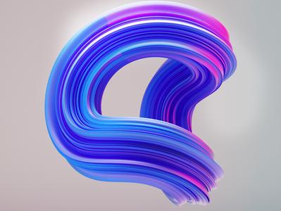 Neon graphic 3d design cinema4d artwork design illustration