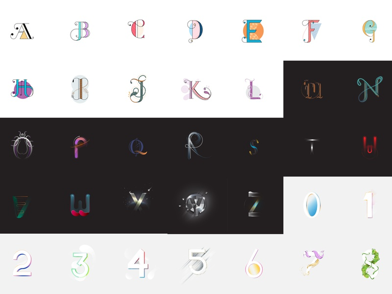 36 Days of Compilation adobe ux branding ui 36daysoftype 3d design graphic design illustration