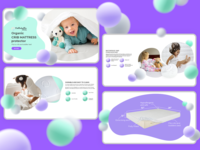 Crib Mattress Protector landing page
