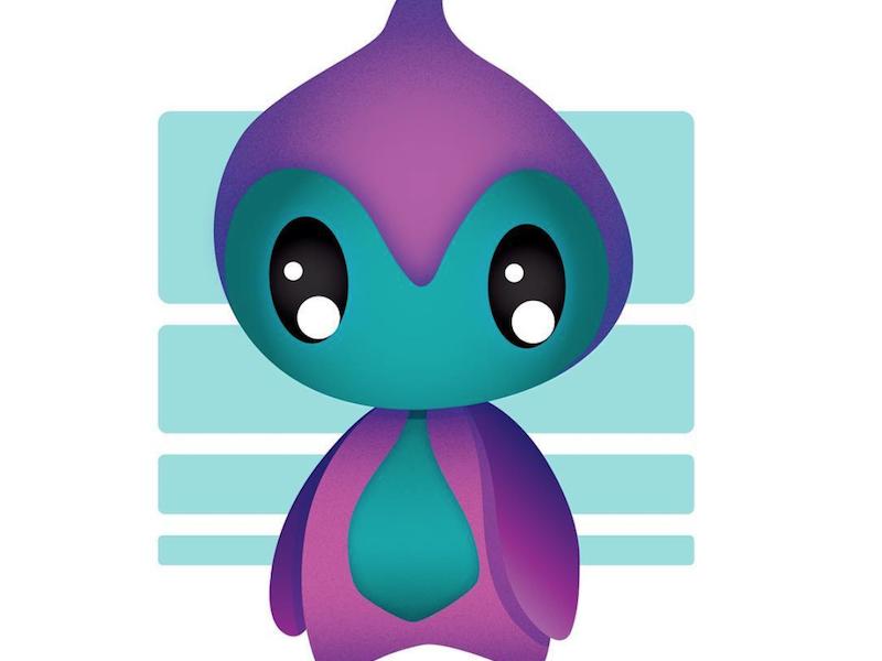 Lil Creature cute kawaii character doodle creature