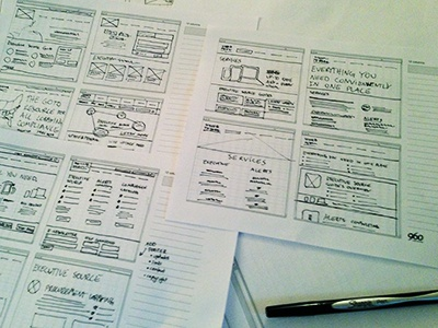 Website Wireframes 05/06 sketches ui website process wireframes