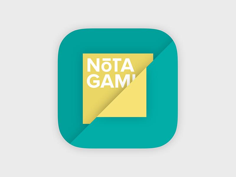 App Icon 005 notes icon app dailyui