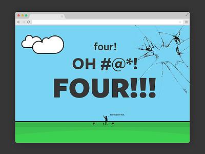 404 Page error 404 008 dailyui