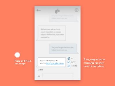 Direct Messaging messaging direct 013 dailyui