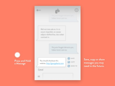 Direct Messaging messaging direct 013 dailyui