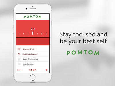 Countdown Timer focus app productivity pomodoro timer countdown 014 dailyui