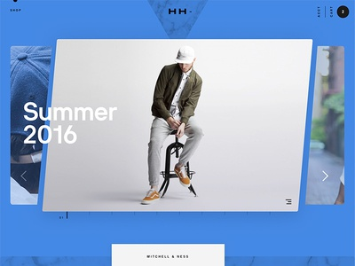 Lookbook 👀 web ecomm hat lookbook product cart shop website